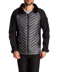 Tumi - Gray Tall Collar Down Jacket for Men - Lyst