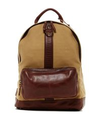 Will Leather Goods   Brown Felix Dome Backpack   Lyst