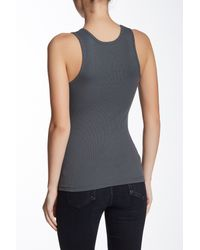 American Apparel - Multicolor Ribbed Tank - Lyst
