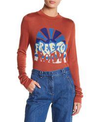 Free People | Multicolor Throwback Long Sleeve Tee | Lyst