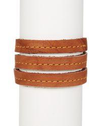 Frye - Multicolor Campus Wrap Leather Cuff - Lyst
