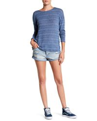 Volcom - Blue Stoned Rolled Short - Lyst