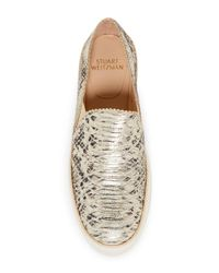 Stuart Weitzman - Multicolor Nuggets Slip-on Sneaker - Lyst