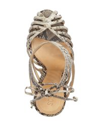 Schutz - Multicolor Anamelia Strappy Cage Sandal (women) - Lyst