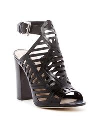 Guess - Black Essty Ankle Strap Sandal - Lyst