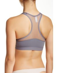 B.tempt'd | Gray Active Sports Bra | Lyst