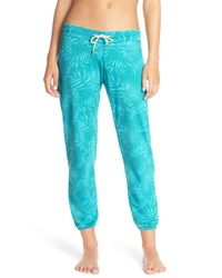 Honeydew Intimates | Blue Burnout French Terry Jogger | Lyst