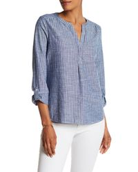Joie - Blue Kalan Stripe Shirt - Lyst