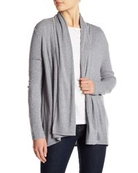 Soft Joie - Gray Long Sleeve Cardigan - Lyst