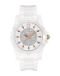 Bulova - Metallic Women's Elena Crystal Bracelet Watch, 38mm - Lyst