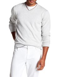 Robert Graham - Gray Antony Sweater for Men - Lyst