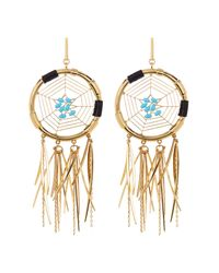 Rebecca Minkoff | Metallic Large Dream Catcher Earrings | Lyst
