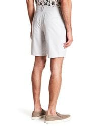Original Penguin - White Dobby Oxford Shorts for Men - Lyst