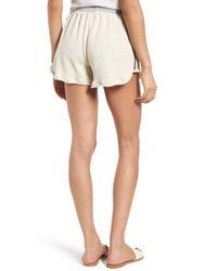 Splendid Multicolor High Waist Vintage Stripe Cotton Shorts