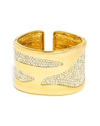 BaubleBar - Metallic Billow Cuff - Lyst