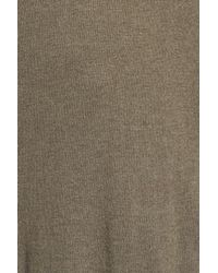 Sejour - Green Split Cowl Sweater (plus Size) - Lyst