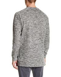 Zanerobe - Gray Flintlock Crew Neck Sweater for Men - Lyst