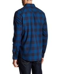 Calvin Klein - Blue Regular Fit Buffalo Check Long Sleeve Shirt for Men - Lyst