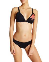 Seafolly | Black Trackside Scuba Hipster Bikini Bottom | Lyst