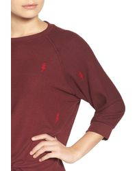 All Things Fabulous | Red Lightning Sweatshirt | Lyst