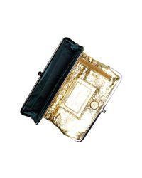 Hobo - Blue Lauren Leather Clutch Wallet - Lyst