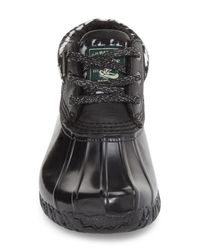 G.H. Bass & Co. - Black Dorothy Waterproof Duck Boots - Lyst