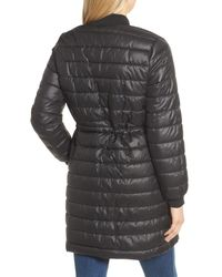 Kenneth Cole - Black Quilted Bomber Jacket - Lyst