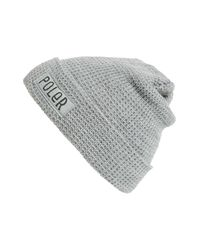 Poler Stuff | Gray Workerman Beanie for Men | Lyst