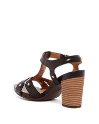 Clarks - Black Banoy Valtina Sandal - Multiple Widths Available - Lyst