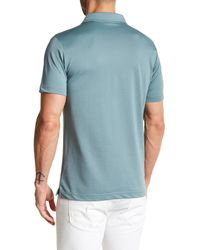 Robert Barakett - Blue Braden Short Sleeve Polo for Men - Lyst