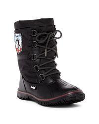 Pajar | Black Grip Low Faux Fur Lined Waterproof Boot | Lyst