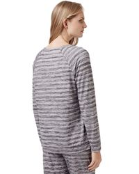TOPSHOP - Gray Maternity Space Dye Sweatshirt - Lyst