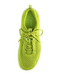Lands' End - Green Active Sneaker - Lyst