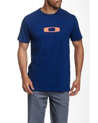 Oakley | Blue Steeze Tee for Men | Lyst