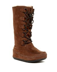 Fitflop | Brown Mukluk Genuine Shearling Lined Tall Boot | Lyst