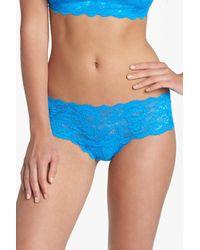 Cosabella - Blue Hottie Low Rise Hot Pant - Lyst