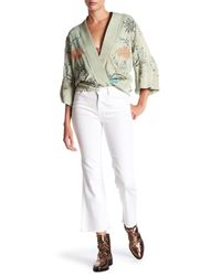 Siwy - White Emmylou Frayed Hem Jeans - Lyst