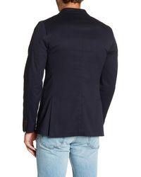 Lands' End - Blue Textured Sportcoat for Men - Lyst