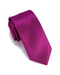 Perry Ellis - Purple Durand Mini Circle Tie for Men - Lyst