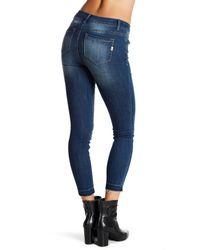 1822 Denim - Blue Clean Release Hem Skinny Jeans - Lyst