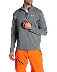 Helly Hansen | Gray Vtr Half Zip Pullover for Men | Lyst