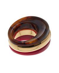 Trina Turk - Multicolor Colorblock Ring - Lyst