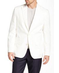 Vince Camuto - White Vanilla Two Button Notch Lapel Blazer for Men - Lyst
