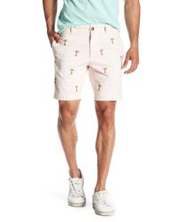 Vintage 1946 - Pink Classic Vintage Palm Tree Twill Short for Men - Lyst