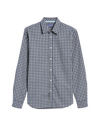 Jeremy Argyle Nyc - Gray Slim Fit Check Sport Shirt for Men - Lyst