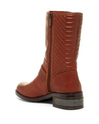 Vince Camuto | Brown Whynn Quilted Leather Boot | Lyst