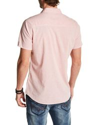 Seven7 - Red Classic Fit Solid Shirt for Men - Lyst