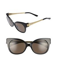 Tory Burch - Black 52mm Cat Eye Sunglasses - Lyst
