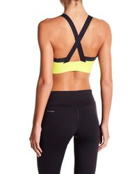 Reebok - Multicolor Spartan Wide Strap Sports Bra - Lyst