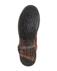 Bed Stu - Multicolor Ashwell Woven Boot - Lyst